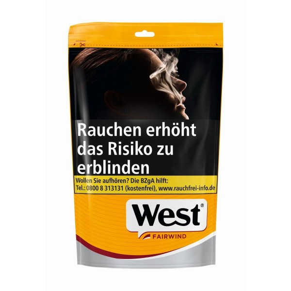 West Yellow Beutel Volume Tobacco