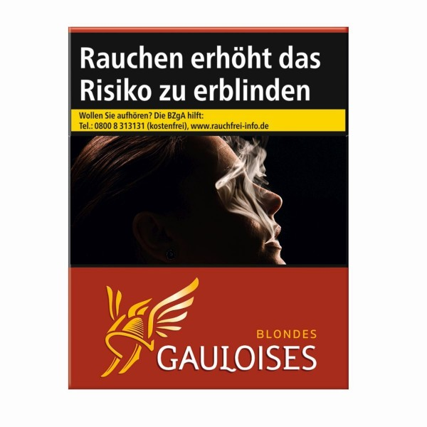 Gauloises Blondes Rot 4XL