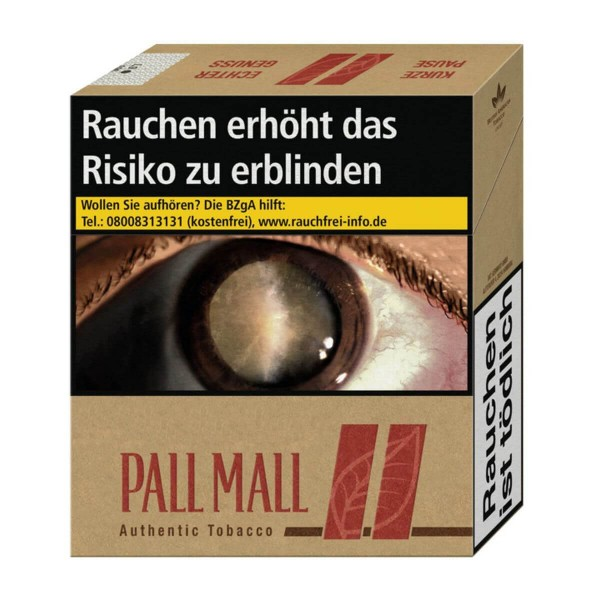 Pall Mall Authentic Red Giga Packung
