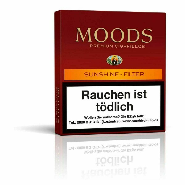 Moods Sunshine Filter 18er