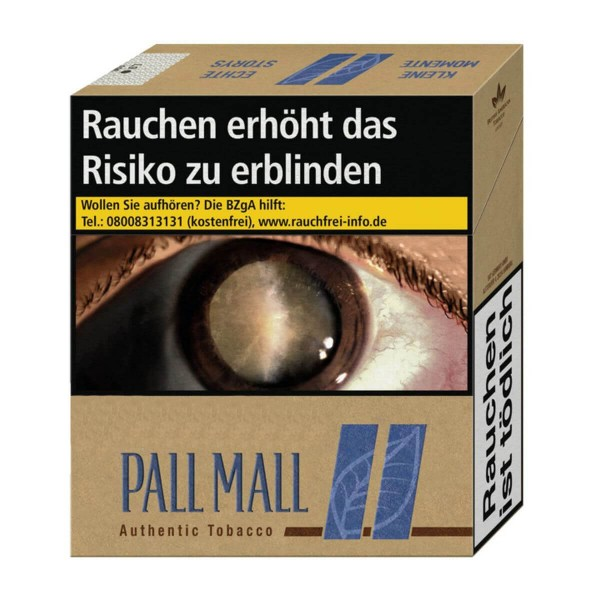 Pall Mall Authentic Blue Giga Packung