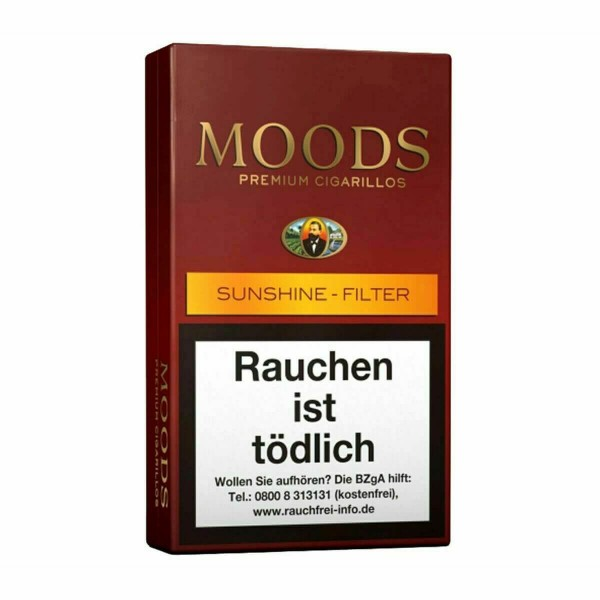 Moods Sunshine Filter 12er