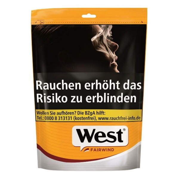 West Yellow XL Beutel Volume Tobacco