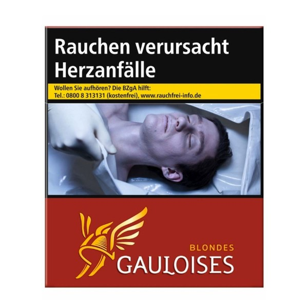 Gauloises Blondes Rot 3XL